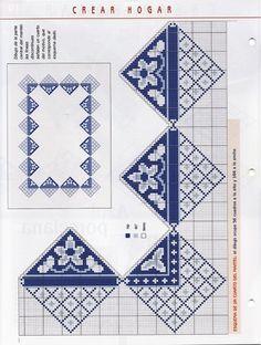 View album on Yandex. Cross Stitch Designs, Cross Stitch Patterns, Cross Stitches, Palestinian Embroidery, Bargello, Cross Stitch Flowers, Le Point, Cross Stitch Embroidery, Crochet Projects
