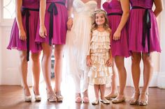 Let your flower girl stand out!