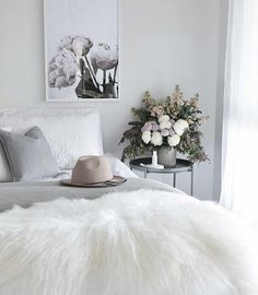 Beautiful bedroom style by @kerryann_stylist featuring our The Stables wall art print by Yorkelee prints.