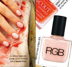 Shop till you Drop loves the 5 free nail polish from RGB in 'Bare' for the perfect summer pink! Shop the full range of colours at Nourished Life