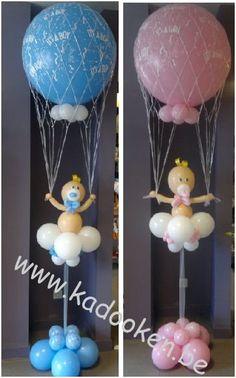 Baby op wolk, Geboorteballonnen, ballonnen geboorte, balloons, heliumballonnen, heliumballons, geboorte