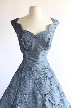 Vintage 1950s Dress, Xtabay Vintage.