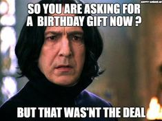 harry Funny happy meme birthday potter