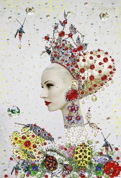 Collage Portrait, Collage Art, Collages, Surreal Photos, Color Pencil Art, Pop Surrealism, Art Graphique, Painting Patterns, Various Artists