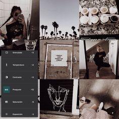 •• Les dejo un bonito filtro estilo como el que usa @/lizakoshy me encanta muchísimo porque le da un toque cafecito a tus fotos y para un