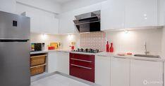 12 Grey Kitchens That Are Drop Dead Gorgeous Interior Modern, Interior Design Kitchen, Kitchen Cost, Kitchen Prices, Red Kitchen, Gloss Kitchen, Kitchen Sink, New Kitchen Designs, Kitchen Trends