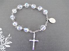Child's Rosary Bracelet Easter Gift For Child