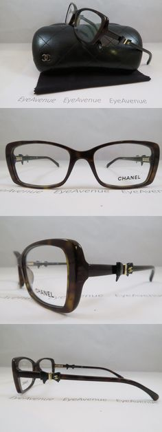 6ec8b011dc1 Eyeglass Frames  Chanel 3248 C.714 Shiny Dark Havana Bow New Authentic  Eyeglasses