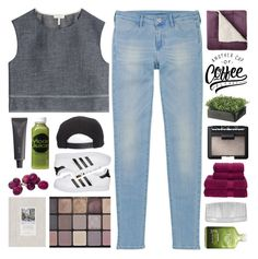 """""""don't go home without me ♡ half-dust"""" by adal1ne ❤ liked on Polyvore featuring rag & bone, Uniqlo, Moon Juice, Christy, H2O+, adidas Originals, NARS Cosmetics, John Lewis, Bite and Brixton"""
