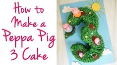 peppa pig cake tutorial - YouTube