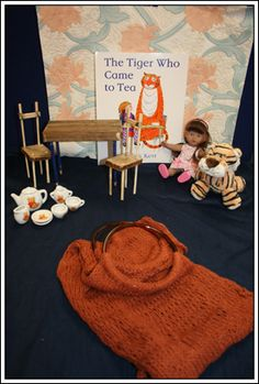 The Tiger Who Came to Tea Story Sack
