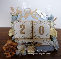 Tutorial Cube Calendar Omg I Love Love Love This Adorable I