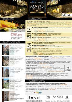 Calendario de Mayo de 2014.