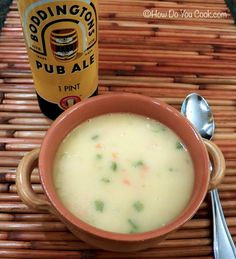 How Do You Cook.com: Canadian Beer and Cheddar Soup