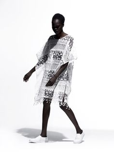 Atong Arjok for Refinery 29 by Paul Jung