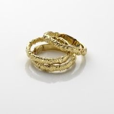 Mary Esses' Gold Lace Band Ring