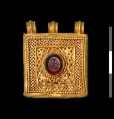 Reliquary of St. Zacharias  Early Byzantine   6th Century