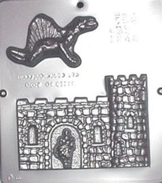 Dungeon and Dragon Chocolate Candy Mold 1248 ** You can find more details by visiting the image link.