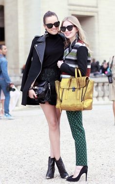 Fashion Bloggers - Andy Torres and Shea Marie ... repinned by Jourdan Dunn, follow more content at http://pinterest.com/shop4fashion/hottest-of-the-honey-pot/