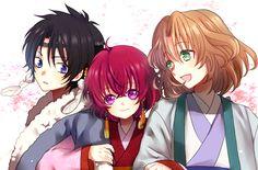 Akatsuki no Yona | Soo-won, Hak, and Yona