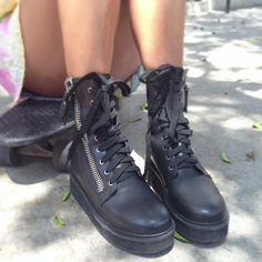 Trench Boots By #UNIF