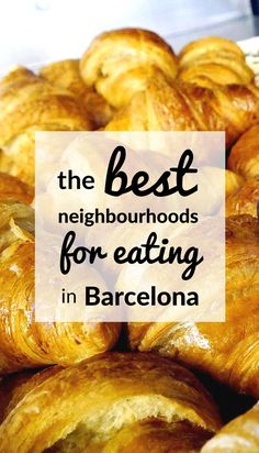 "Looking for the best neighbourhoods in Barcelona to eat in? Try the ""Slow Travel Guide to Barcelona"", full of travel tips and advice.. Includes info on what to do, and where to eat, and how to rent an apartment in Barcelona:"