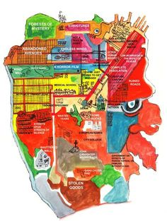david enos SF map