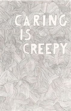 """The Shins """"Caring is Creepy"""" This is one of those songs that I love and I have…"""