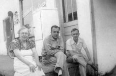 From L to R.My grandmother Florence Sheridan,Uncle Pud Chambers and Uncle Lawrence Sheridan