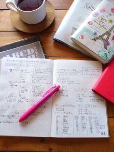"""こんにちは!(*""""ー""""*)今日はお休みですがちょっと頭が痛いー。たぶん、目から来てると思う^^;;試験やら資料作りやらでちょっと目を酷使しすぎたかなー。ち... Note Taking, Study Tips, Back To School, Notebook, Bullet Journal, Notes, Journaling, Taking Notes, Report Cards"""