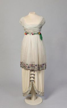 Poiret evening dress, 1913From the State Hermitage Museum