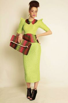 Its African inspired. African Inspired Fashion, African Print Fashion, Africa Fashion, Ankara Fashion, Nigerian Fashion, Ghanaian Fashion, African Attire, African Wear, African Women
