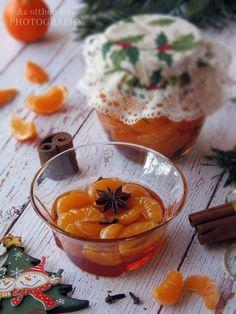 Az otthon ízei: Klementin fűszeres szirupban