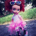 Little Merida in a pink tutu:heartpulse: by DayaStripe