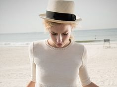 Svilu's Eco-Fashion uses undyed wool, deadstock fabric,organic cottton, tencel, and Newlife yarn. #girly tomboy style #wardrobe staples #sophisticated sustainable style #NYC-Made #Love this sweater