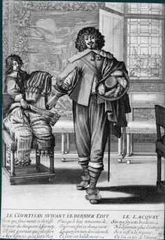 The Courtier following the last edict (c.1633)