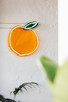 Neon Poodle Peach Neon light with dimmer BNIB wide by high Web Design, Cafe Design, Store Design, House Design, Wayfinding Signage, Signage Design, Branding Design, Cafe Signage, Palette Design