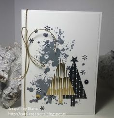 #Stampin'Up! *last minute christmas cards!!