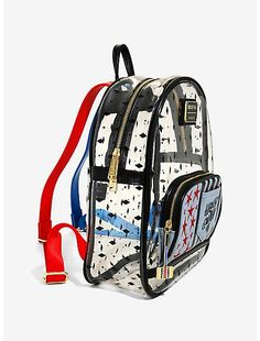 Loungefly DC Comics Birds of Prey Harley Quinn Clear Mini Backpack, Gardians Of The Galaxy, Nick Jonas, Cool Backpacks, Birds Of Prey, Mini Backpack, Harley Quinn, Dc Comics, Pop Culture, Unique Gifts