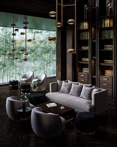 hotel lounge Lobby Lounge of Puli Hotel in China on Behance Hotel Lounge, Lobby Lounge, Lounge Chair, Hotel Lobby Design, Lounge Design, Club Sofa, Hotel Foyer, Home Design, Interior Design