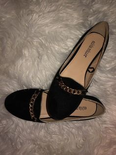 294b751cf62b New Olivia Miller Black Ballet Flats Woman s Size 8 Suede Material
