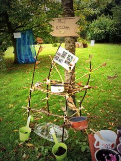 Mud kitchen ~ early years ~ outdoor play