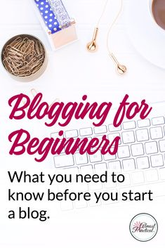 Blogging tips for beginners. Find answers to your questions with these FAQ's and understand if WordPress is right for you - download the free cheatsheet to help you get started with your blog.