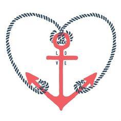love, anchor, cute - inspiring picture on Favim.com
