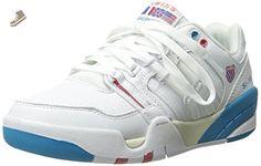 K-Swiss Women's SI-18 International Athletic, White/Blue/Danube/Rose Of Sharon, 6 M US - K swiss sneakers for women (*Amazon Partner-Link)
