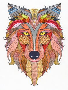 Creation by Marcel, coloring page from the gallery Animal