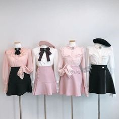 Image in Fashion aesthetics collection by Mia✨☕🌿 Kpop Fashion Outfits, Stage Outfits, Korean Outfits, Mode Outfits, Girly Outfits, Cute Casual Outfits, Pretty Outfits, Fashion Dresses, Kawaii Fashion