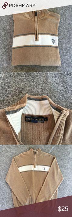 U.S. Polo Assn. Pullover Sweater U.S. Polo Assn. Pullover Sweater  Size - Large U.S. Polo Assn. Sweaters