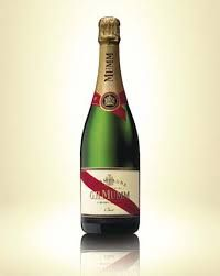 GH Mumm, one of the top champagnes of the world