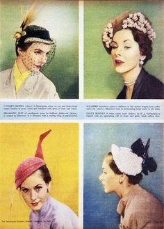 More hats! hats galore! 1950